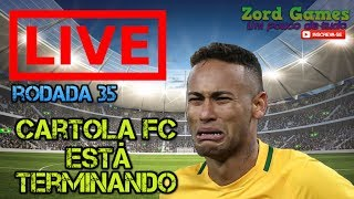 LIVE ATE O FECHAMENTO DO MERCADO - CARTOLA FC - TIME DA LIVE ZORD GAMES