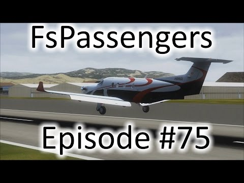 FSX | FsPassengers - Ep. #75 - Circus In Seattle | PC-12