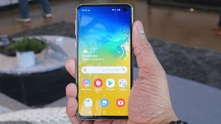 My First Experience with the Samsung Galaxy S10!