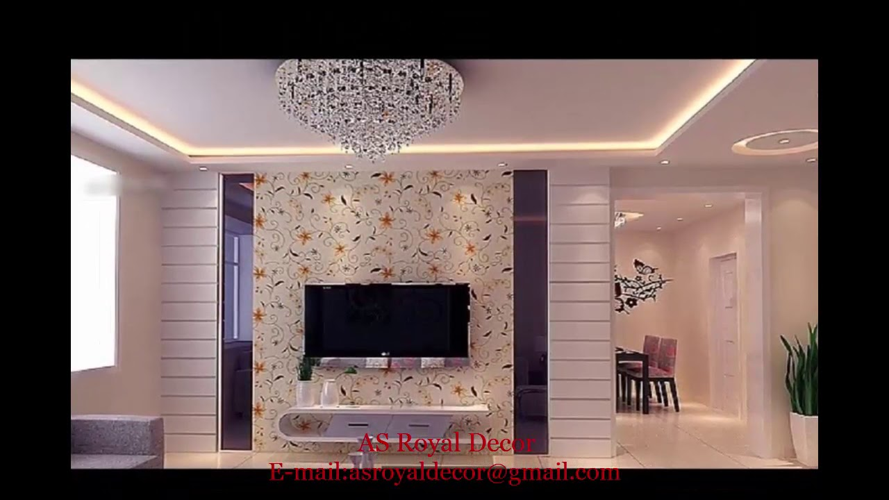 TV cabinet designs for living room/Bedroom (As Royal Decor) - YouTube
