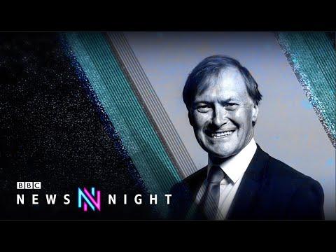 MP Sir David Amess fatally stabbed - BBC Newsnight