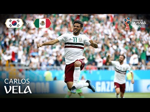 Carlos VELA Goal - Korea Republic v Mexico - MATCH 28