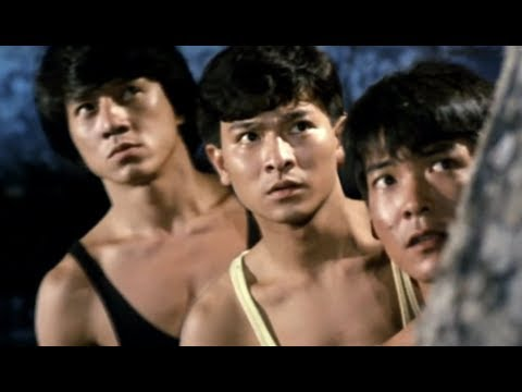 Jackie Chan, Sammo Hung, Yuen Biao & Andy Lau (My Lucky Stars 1,2; Winners and Sinners)