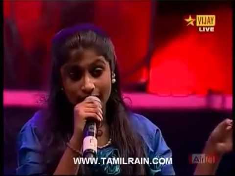 Singaara Velane Deva by Alka Ajith in Grand Finale of Super Singer Junior 2