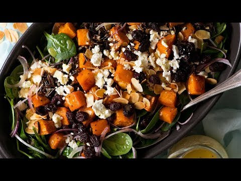 Roasted Yams Salad