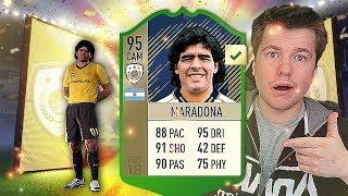 OMG! MARADONA!!!  JEST WARTY 2.400.000 COINS? FIFA 18