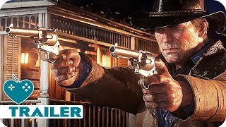 Red Dead Redemption 2 Trailer 2 German Deutsch (2018) PS4, Xbox One Game