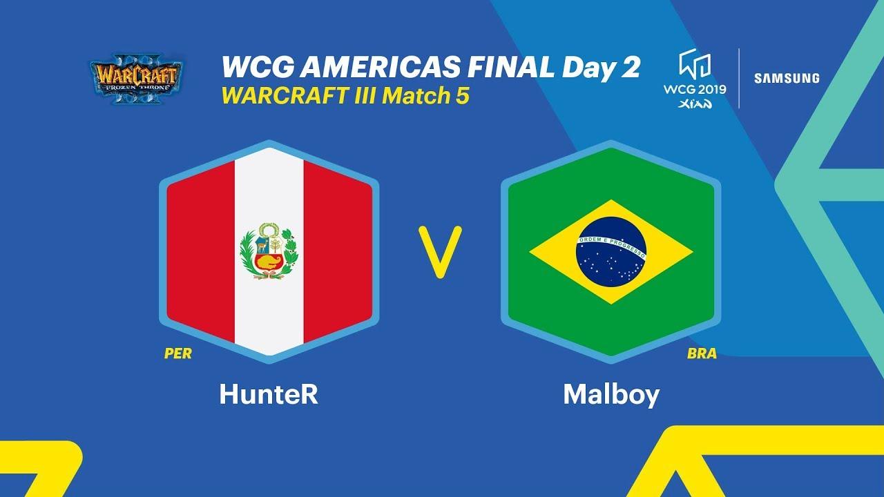 WCG 2019 Xi'an, Americas Final – Warcraft Ⅲ, 5R, Peru vs Brazil (ENG)