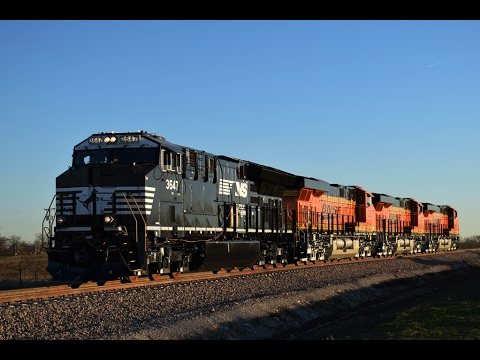 New GE Locomotive Test Runs In Justin, TX (1/30/17)