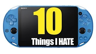 10 Things I HATE about the PS VITA