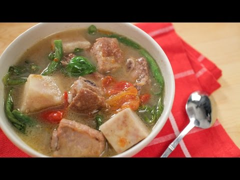 Filipino Sinigang Recipe W/ Pork Ribs | Asian Recipes