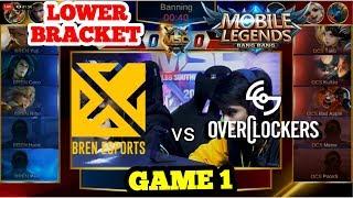 BREN ESPORTS (PH) vs OVERCLOCKERS (VN) GAME 1    MSC 2019   PLAYOFFS - LOWER BRACKET