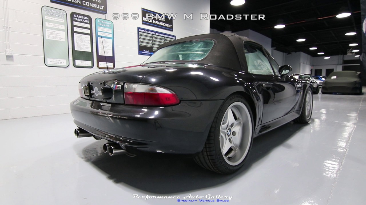 1999 BMW M Roadster - Start Up Video - YouTube