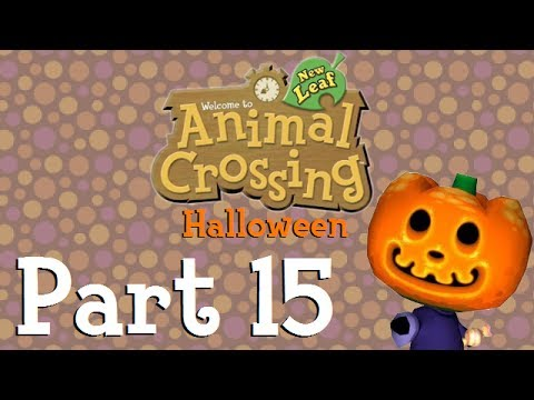 Animal Crossing: New Leaf - Happy Halloween! (Part 15) - YouTube