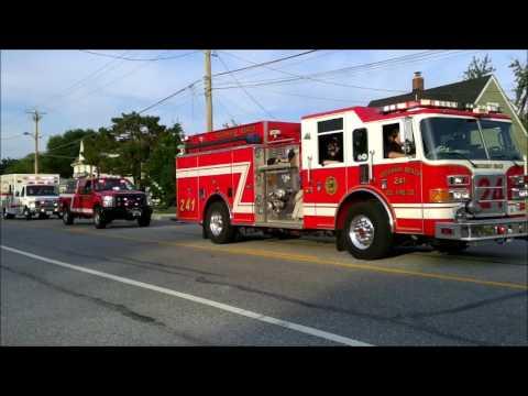 2017 Rosedale Volunteer Fire Department Firemen's Parade