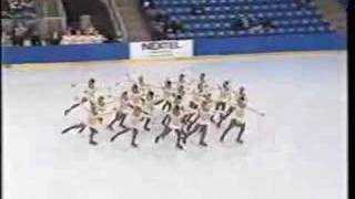 Haydenettes 2000 Nationals Short - Skaters Waltz