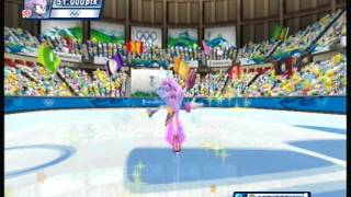 Mario & Sonic at the Olympic Winter Games Figure Skating (Blaze)