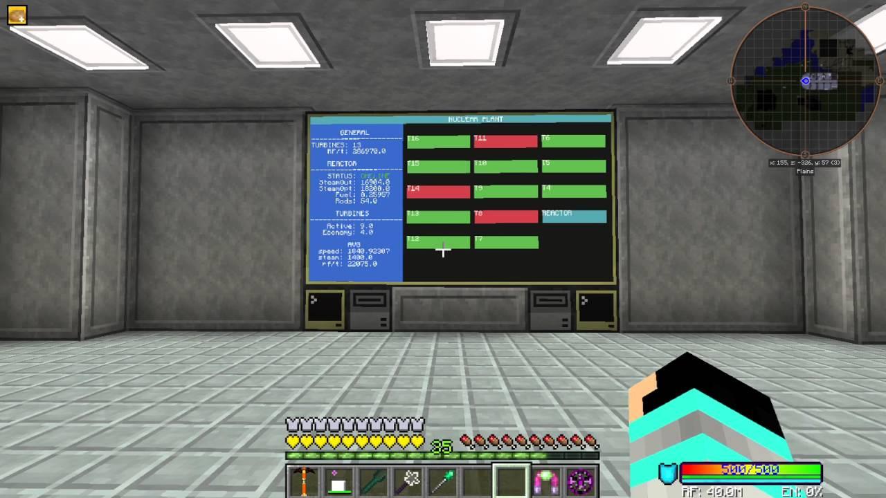 Active Cooled Big Reactor: Control Program