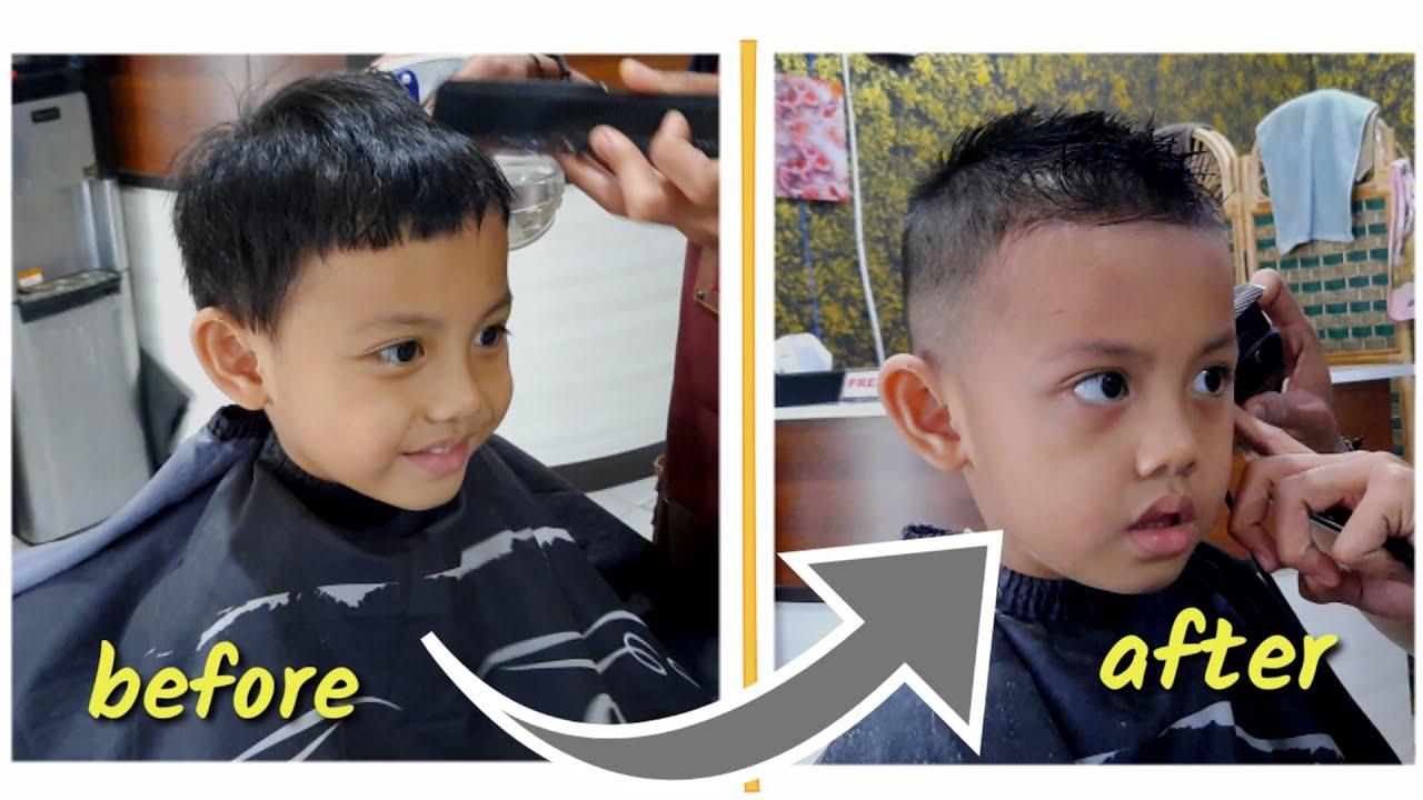 POTONG RAMBUT ANAK - GAYA RAMBUT ANAK - Barbershop anak ...