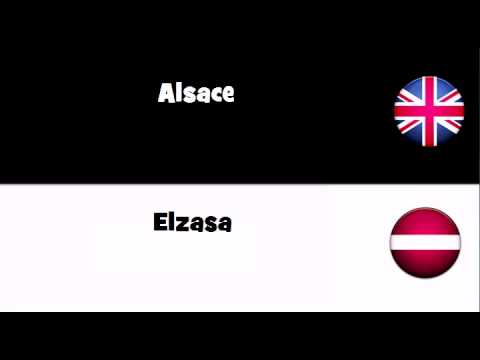 TRANSLATE IN 20 LANGUAGES = Alsace