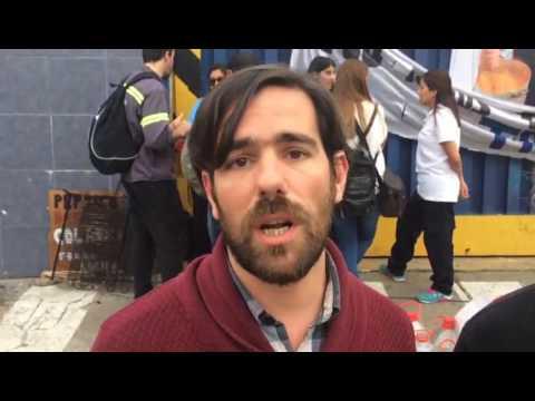 Nicolás del Caño y Christian Castillo - Solidaridad con los trabajadores de PepsiCo