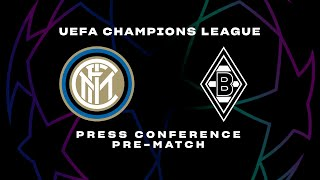 INTER vs BORUSSIA | LIVE | CONTE + HANDANOVIC PRE-MATCH PRESS CONFERENCE | 🎙️⚫🔵 [SUB ENG]