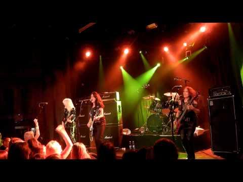 Girlschool - Demolition Boys @ Virgin Oil, Hellsinki 09.08.2014
