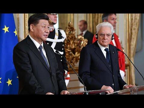 Xi Jinping responde a receios europeus em Roma