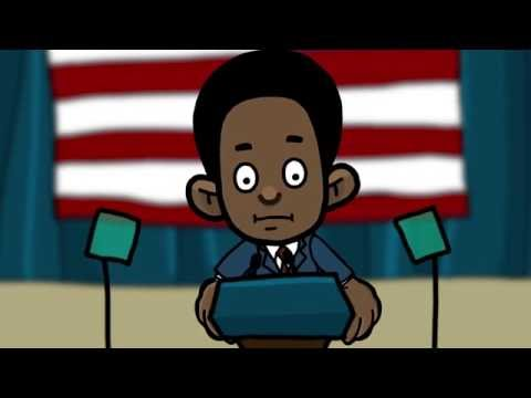 Clinton and Trump will never debate against this candidate (Adobe Character Animator)
