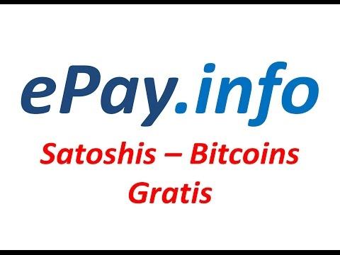 EPAY.INFO La Mejor Faucet Para Ganar Bitcoin Satoshis (Español)