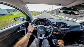 Kia Ceed   100 HP   POV Test Drive