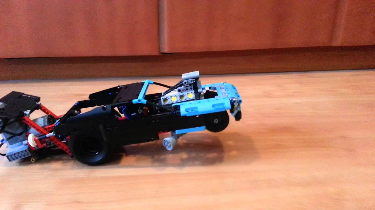Lego Technic 42050 Power function RC Drag Racer 2 - YouTube