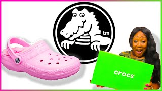 My First Pair Of Crocs !!! | Crocs Classic Fuzz Lined Clog Review