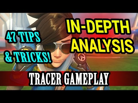 Overwatch - In-Depth Analysis Episode 7: Competitive Tracer/McCree: 47 Tips, Tricks, & Strategies!