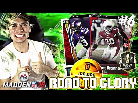 SHOPPING SPREE AND WEEKEND LEAGUE! RTG EP. 6 | MADDEN 18 ULTIMATE TEAM ROAD TO GLORY