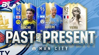 PAST AND PRESENT MAN CITY SQUAD BUILDER! | FIFA 19 ULTIMATE TEAM