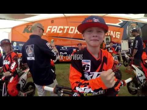 In the Moment with KTM Junior SX athlete Jack Aaron at Las Vegas