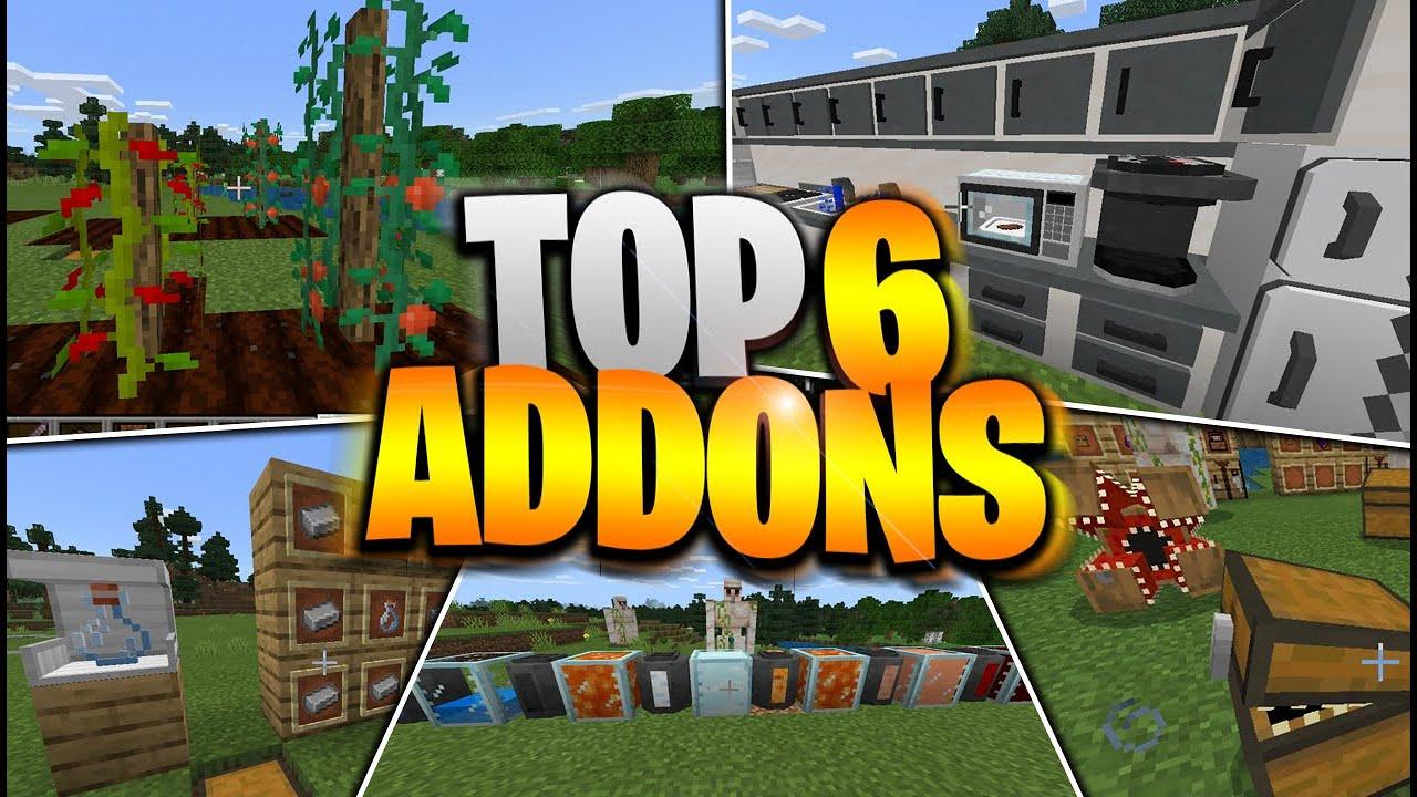 top 6 mod addons para minecraft pe 1.16.100 a 1.16.200 mejores addons para tu mundo survival mcpe