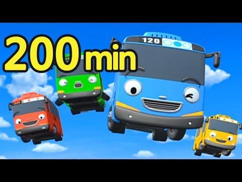 【YOYO金曲200分鐘】寶貝PLAY!爸媽不累!捏泥巴 波力POLI 妖怪手錶 小巴士TAYO|卡通 MV|兒歌|唱跳|兒童歌曲|點點名金曲100