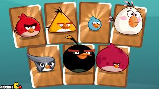 Angry Birds Under Pigstruction - ALL BIRDS In Golden Card!