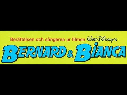 Berättelsen och sångerna ur Walt Disney's film Bernard & Bianca, LP-skiva