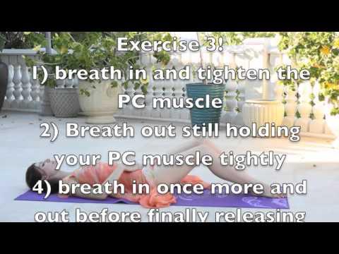 Kegel Exercise.  Better Control, Better Sex, Better Life!