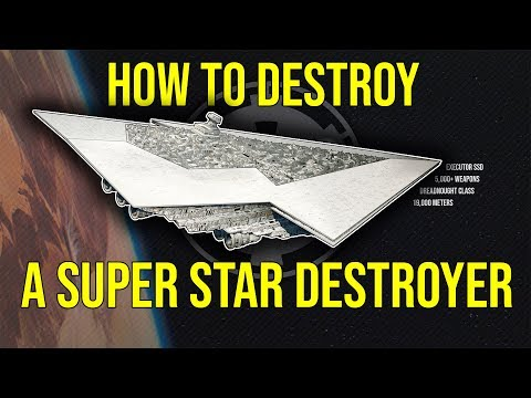 How to Destroy a SUPER STAR DESTROYER | Star Wars Canon + Legends