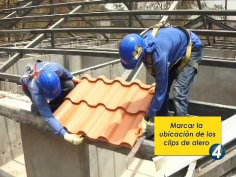Correcta instalación de la teja metálica novateja