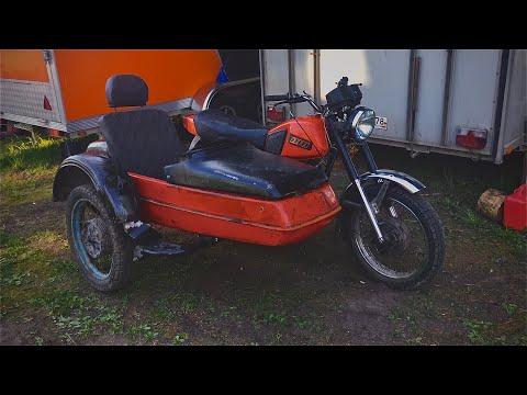 Сборка коляски и установка коляски на мотоцикл