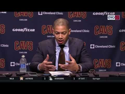 Tyronn Lue critical of early defensive effort against Bulls | Cavs Live postgame