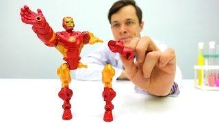 #ЖелезныйЧеловек и #Джокер: Битва героев! Доктор Ой собрал Железного человека по частям. #СУПЕРГЕРОИ