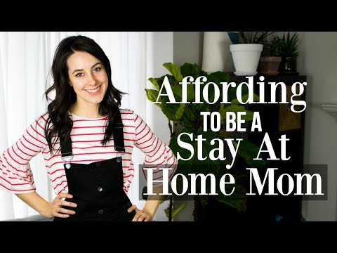 How Can I Afford To Be A Stay At Home Mom?  ♡ Millennial Minimalist Mom Perspective