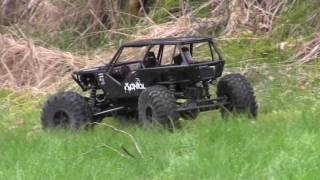 RC Axial  4WD Rock Crawler / racer - Norway -2017