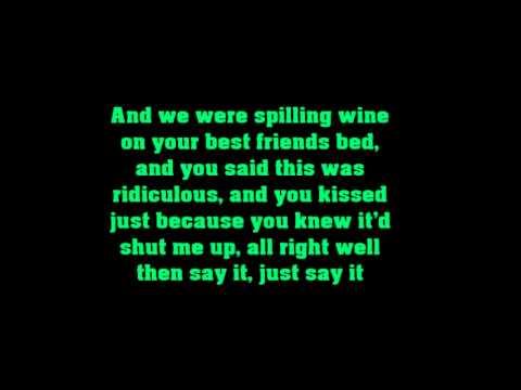 The Mowgli's - Say it, Just Say it (Lyrics)
